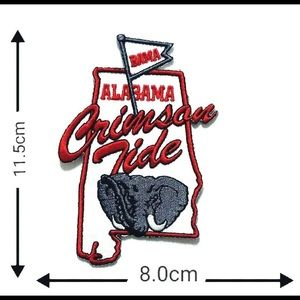 Alabama Patch, Iron On Roll Tide Football DIY